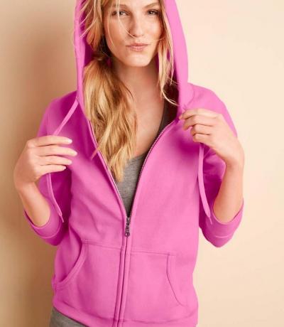GIL 18600 - Kapucnis női pulóver