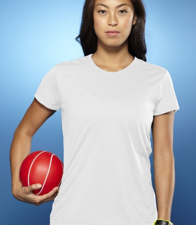 GIL 42000 - Gildan Performance fehér női póló