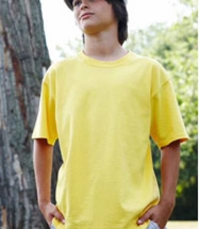 GIB 64000 - Gildan színes gyerek póló