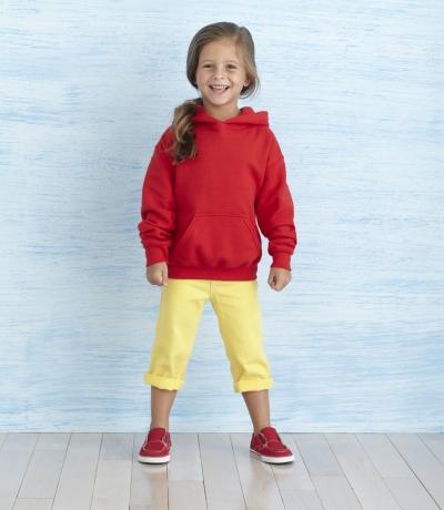 GIB 18500 - Kapucnis gyerek pulóver