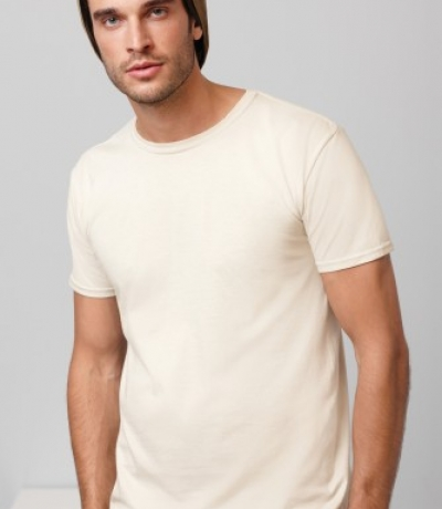 GI 64000 - Gildan unisex fehér póló